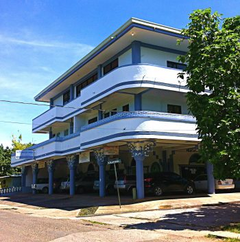 FSMDB Headquarters at the Town Plaza Building  in Pohnpei, FSM.