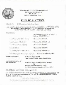 thumbnail of Public Auction