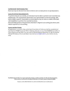 thumbnail of Accountant Vacancy Page 2