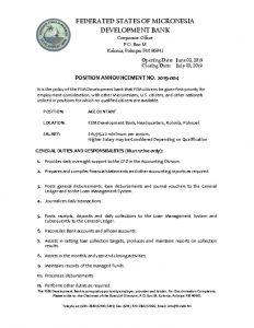 thumbnail of FSMDB Position Vacancy.2019.004.06032019.Accountant