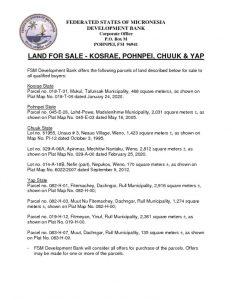 thumbnail of July 30 2021 FSMDB land sale notice